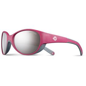 Julbo Lily Spectron 3+ Gafas de sol 4-6Años Niños, fuchsia/gray-gray flash silver